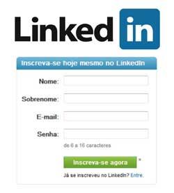 Criar perfil LinkedIn currículo