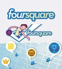 Criar Foursquare configurar perfil