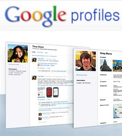Criar Google Profiles