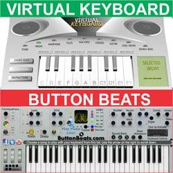 Tocar teclado virtual online
