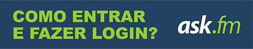 Entrar Login Ask.fm