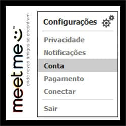 Como sair e excluir o MeetMe