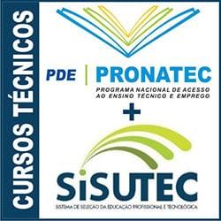 Inscrever Sisutec Pronatec Cursos Técnicos