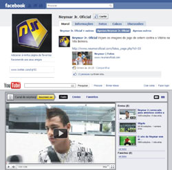 Neymar Facebook Youtube