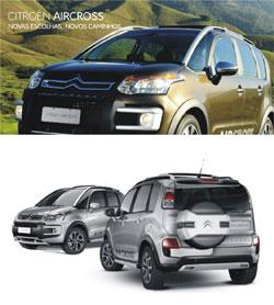 Fotos preços Citroën Aircross