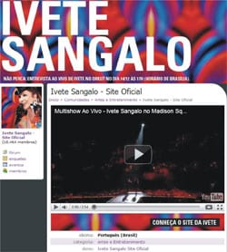 Assistir Show Ivete Sangalo Orkut