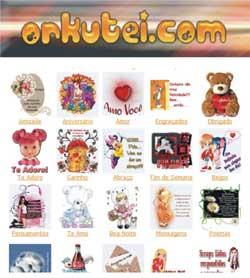 Orkutei Orkut Mensagens Recados