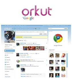 Novo visual Orkut 2011