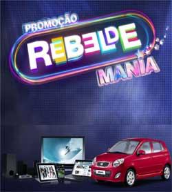 Participar promoção Rebelde Mania