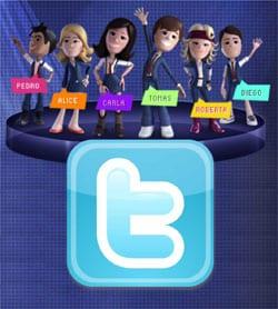 Twitter atores atrizes Rebelde