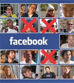 apagar amigo Facebook
