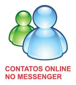 Contatos não online Messenger