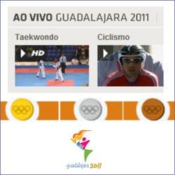 Pan Americano Ao vivo Medalhas