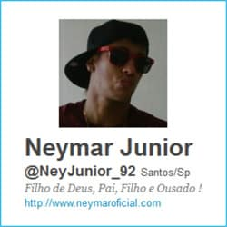 Novo Twitter Neymar