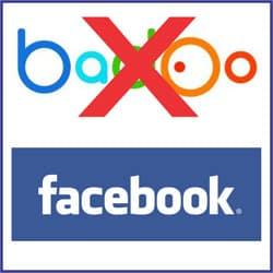 Excluir Badoo Facebook