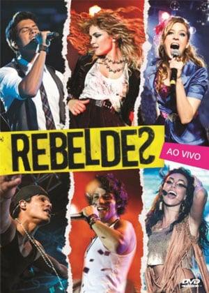capa DVD Rebeldes