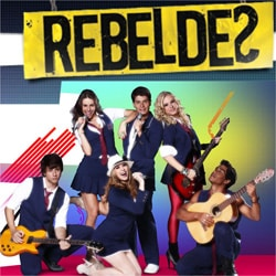 Rebelde Agenda shows 2012