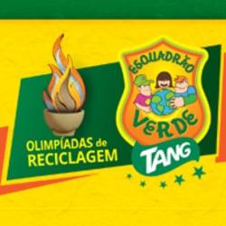 Esquadrão verde Tang Olimpíadas reciclagem