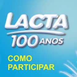 Promoção Lacta 100 anos participar