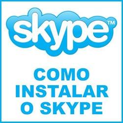 Instalar Skype tutorial