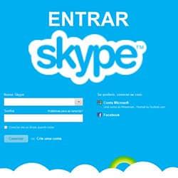 Entrar Skype