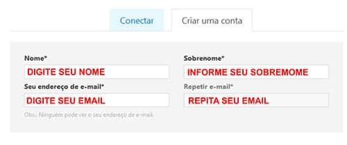 Conta Skype login