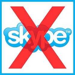 Excluir Skype definitivamente
