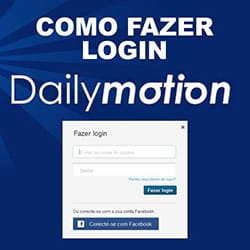 Login Dailymotion