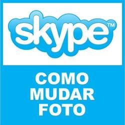 Mudar Foto Skype