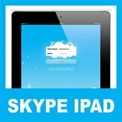 Acessar Skype iPad