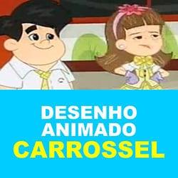 Desenho animado de Carrossel no SBT