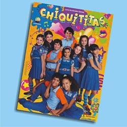 Álbum Chiquititas – Panini lança livro ilustrado com figurinhas
