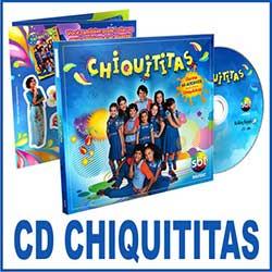 CD com músicas da Trilha Sonora de Chiquititas 2013 do SBT