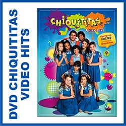 DVD Chiquititas Video Hits