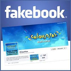 Página de Fãs das Chiquititas no Facebook