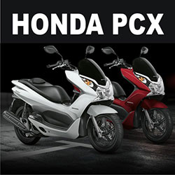Scooter Honda PCX tem bom preço e faz 45 km por litro