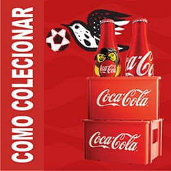 Colecionar minigarrafinhas Coca-Cola