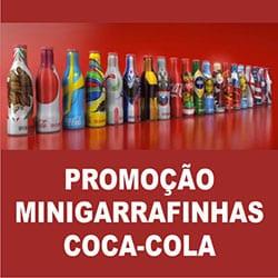 Promoção Minigarrafinhas Coca-Cola