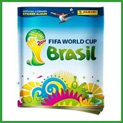 Álbum de Figurinhas Panini Copa do Mundo FIFA 2014
